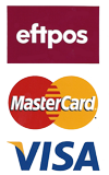 Eftpos, Mastercard and Visa